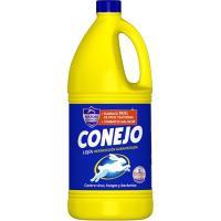 Lejía multiusos CONEJO, garrafa 2 litros