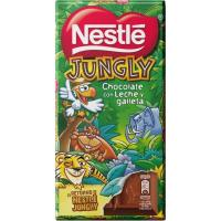 Chocolate Jungly NESTLÉ, tableta 125 g