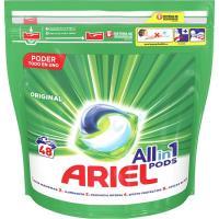 Detergente en cápsulas ARIEL Original, bolsa 48 dosis