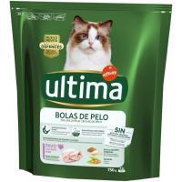 Control bolas de pelo para gato ULTIMA, paquete 750 g