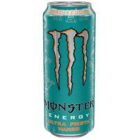 Bebida energética MONSTER Ultra Fiesta, lata 50 cl