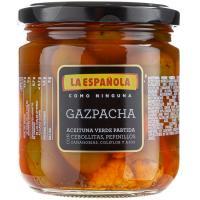 Aceituna verde gazpacha LA ESPAÑOLA, frasco 195 g