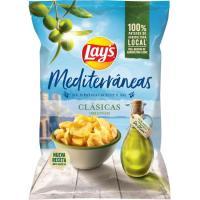Patatas fritas Mediterráneas artesanas oliva LAYS, bolsa 150 g