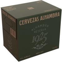 Cerveza Reserva 1925 ALHAMBRA, pack botellín 12x33 cl