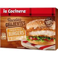Chicken fillet burguer LA COCINERA, caja 227 g