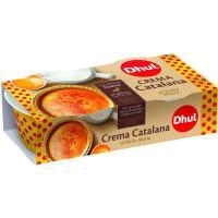 Crema catalana DHUL, pack 2x100 g