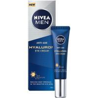 Contorno de ojos antiedad Hyaluron NIVEA MEN, tubo 15 ml