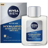 Bálsamo anti age Hyaluron NIVEA MEN, frasco 100 ml