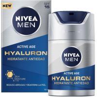 Crema Hidra Hyaluron NIVEA MEN, dosificador 50 ml