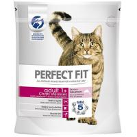 Alimento de salmón gato esterilizado PERFECT FIT, paquete 1400 g