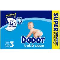 Pañal Box Super Ahorro 6-10 kg T3 DODOT, paquete 136 uds