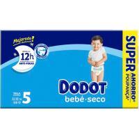 Pañal Box Super Ahorro 11-16 kg Talla 5 DODOT, paquete 116 uds