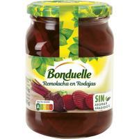 Remolacha en rodajas BONDUELLE, frasco 305 g
