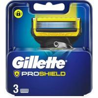 Cargador de afeitar GILLETTE Fusion Proshield, pack 3 uds