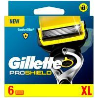 Cargador de afeitar GILLETTE Fusion Proshield, pack 6 uds