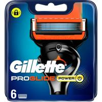 Cargador de afeitar GILLETTE Fusion Proglide Power, pack 6 uds
