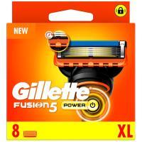 Cargador de afeitar GILLETTE Fusion 5 Power, pack 8 uds