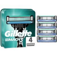 Cargador de afeitar GILLETTE Mach3, pack 4 uds
