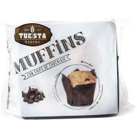 Muffin con pepitas TUESTA BAKERY, paquete 300 g