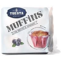 Muffins con arándanos TUESTA BAKERY, paquete 300 g