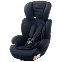 Silla auto Vik, grupo 123(de 9 a 36kg), color negro/azul. Cabezal regulable en altura, adaptable al crecimiento del niño. Con colchoneta reductora y apoyabrazos. Desenfundable y lavable VIVITTA