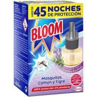 Insecticida eléctrico líquido lavanda BLOOM, recambio 1 ud