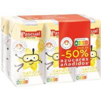 Batido sabor a vainilla PASCUAL, pack 6x200 ml