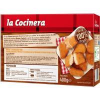 Nuggets  familiar rebozado fino COCINERA, caja 400 g