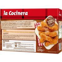 Fingers de pollo COCINERA, caja 320 g