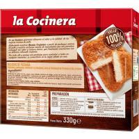 Delicias de pechuga LA COCINERA, caja 330 g