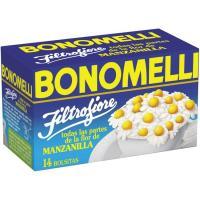 Manzanilla flor BONOMELLI, caja 14 sobres