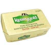 Mantequilla con sal KERRYGOLD, pastilla 200 g