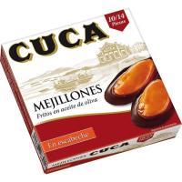 Mejillón en escabeche 10/14 piezas CUCA, lata 115 g