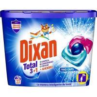 Detergente en cápsulas triocaps DIXAN, caja 23 dosis