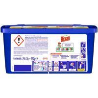 Detergente en cápsulas triocaps DIXAN, caja 34 dosis