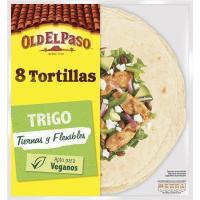 Tortilla de trigo OLD EL PASO, paquete 320 g