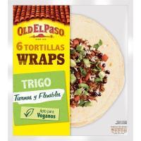Tortilla wrap OLD EL PASO, paquete 370 g