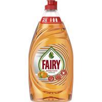 Lavavajillas a mano de naranja FAIRY, botella 800 ml