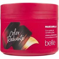 Mascarilla especial color radiante BELLE, tarro 300 ml