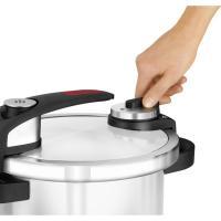 Olla a presión, 6 L ,acero inoxidable, apta todo tipo de cocinas Ruby MONIX, 1 ud