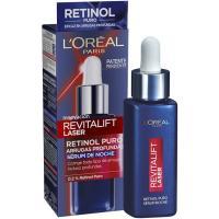 Serum de noche revitalift laser retinol L¿OREAL, gotero 30 ml