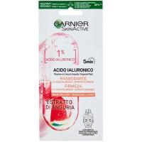 Mascarilla a. hialurónico extracto sandía SKIN ACTIVE, pack 1 ud