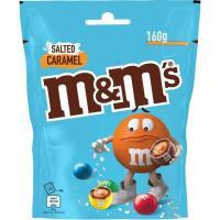 Grageas de chocolate con caramelo salado M&M'S, bolsa 160 g