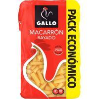 Macarrón rayado GALLO, paquete 900 g