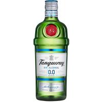 Bebida sin alcohol TANQUERAY 0.0, botella 70 cl
