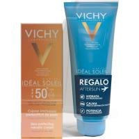 Crema solar facial SPF50+ -Aftersun VICHY, pack 1 ud