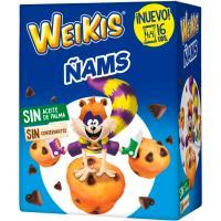 Ñams WEIKIS, 4 uds, caja 180 g