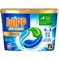 Detergente en cápsulas WIPP, caja 18 dosis