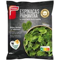 Espinacas primavera FINDUS, bolsa 450 g