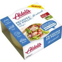 Pechuga de pollo al natural ALDELIS, lata 95 g